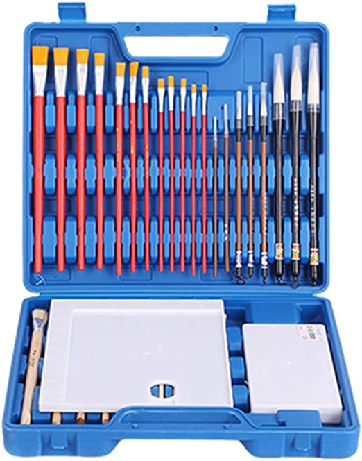 Kit de pinceles, juego de pinceles de pinturas acrílicas para ...