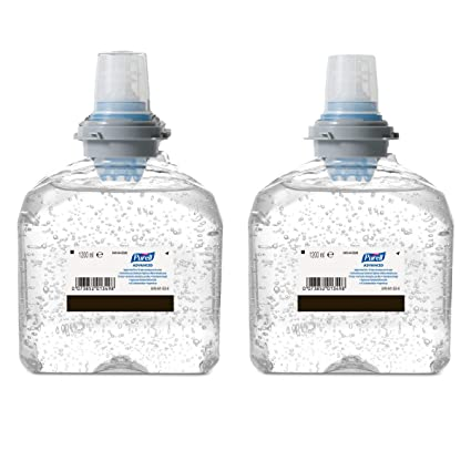 PURELL® TFX™ Starter Kit - PURELL dispensador de jabón automático, 2 x 1.200