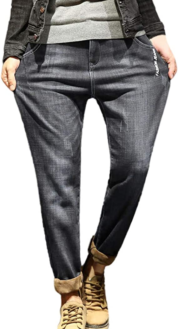 VPASS Pantalones Vaqueros para Hombre,Pantalones Casuales ...