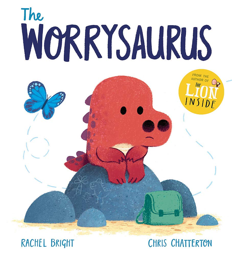 The Worrysaurus: Amazon.co.uk: Bright, Rachel, Chatterton, Chris: Books