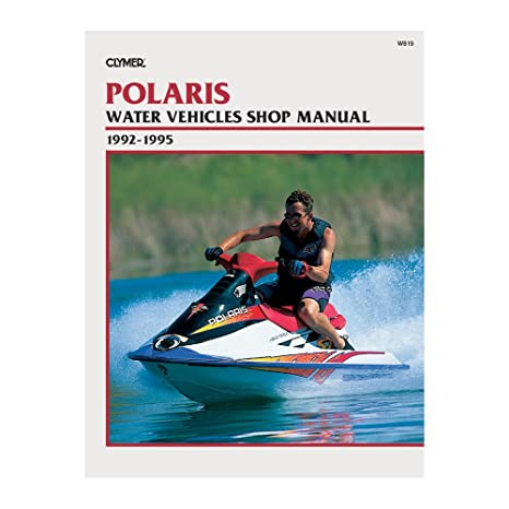Clymer Repair Manual For Polaris Watercraft PWC 92 95