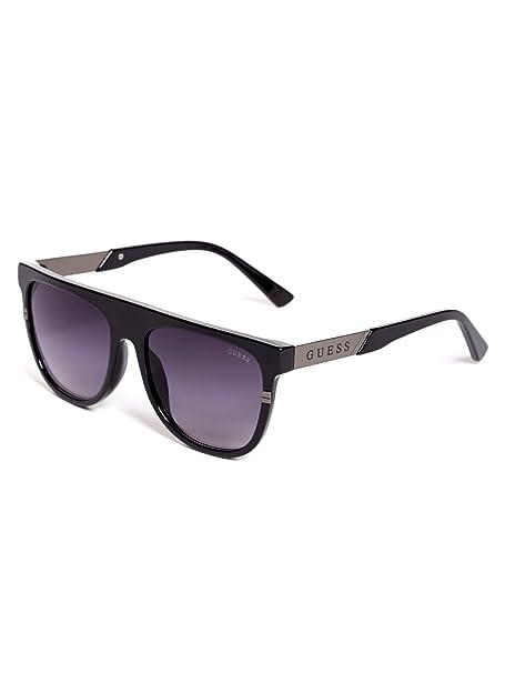 54f3f1e281a1 GUESS Factory Men s Plastic Aviator Sunglasses  Amazon.co.uk  Clothing