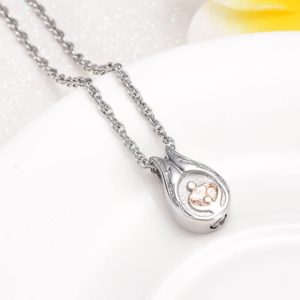 wonderful jewerly We are Family Memorial Urn Necklace Stainless Steel Cremation Jewelry Keepsake Your Loves ash Safety