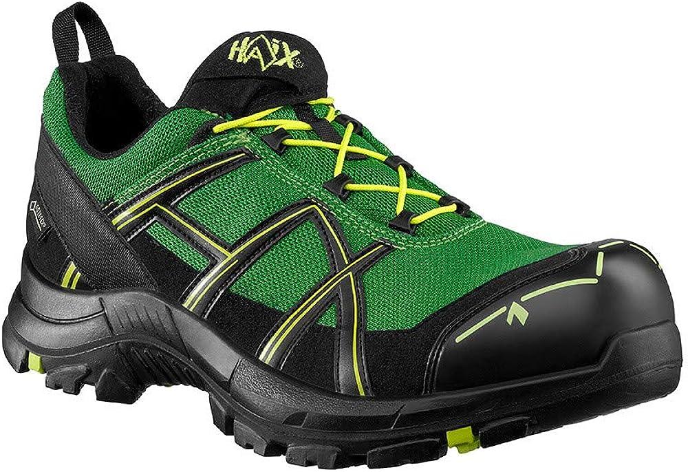 Haix Black Eagle Safety 40.1 Low Black//Poison S3 Sicherheitsschuhe in neuen Trendfarben