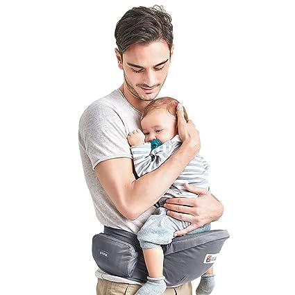 ebc7fe76c Kidsidol Portador de asiento de cadera de bebé Portador del taburete de la  cintura infantil Portador