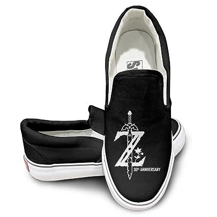 Legend Of Zelda Breath Of The Wild Unisex Casual Flat Canvas Sneaker Shoes