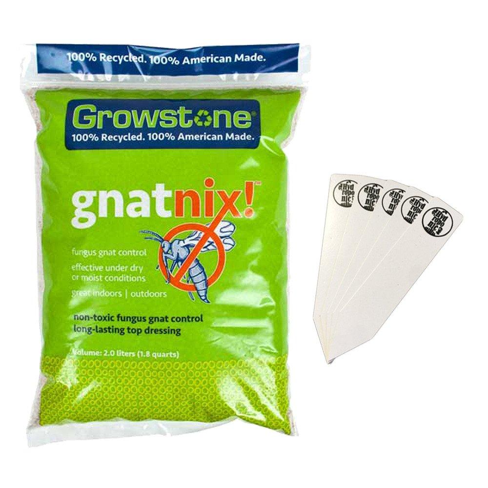 Growstone Gnat Nix!, Fungus Gnat Control - 2 Liter Bag + Stakes