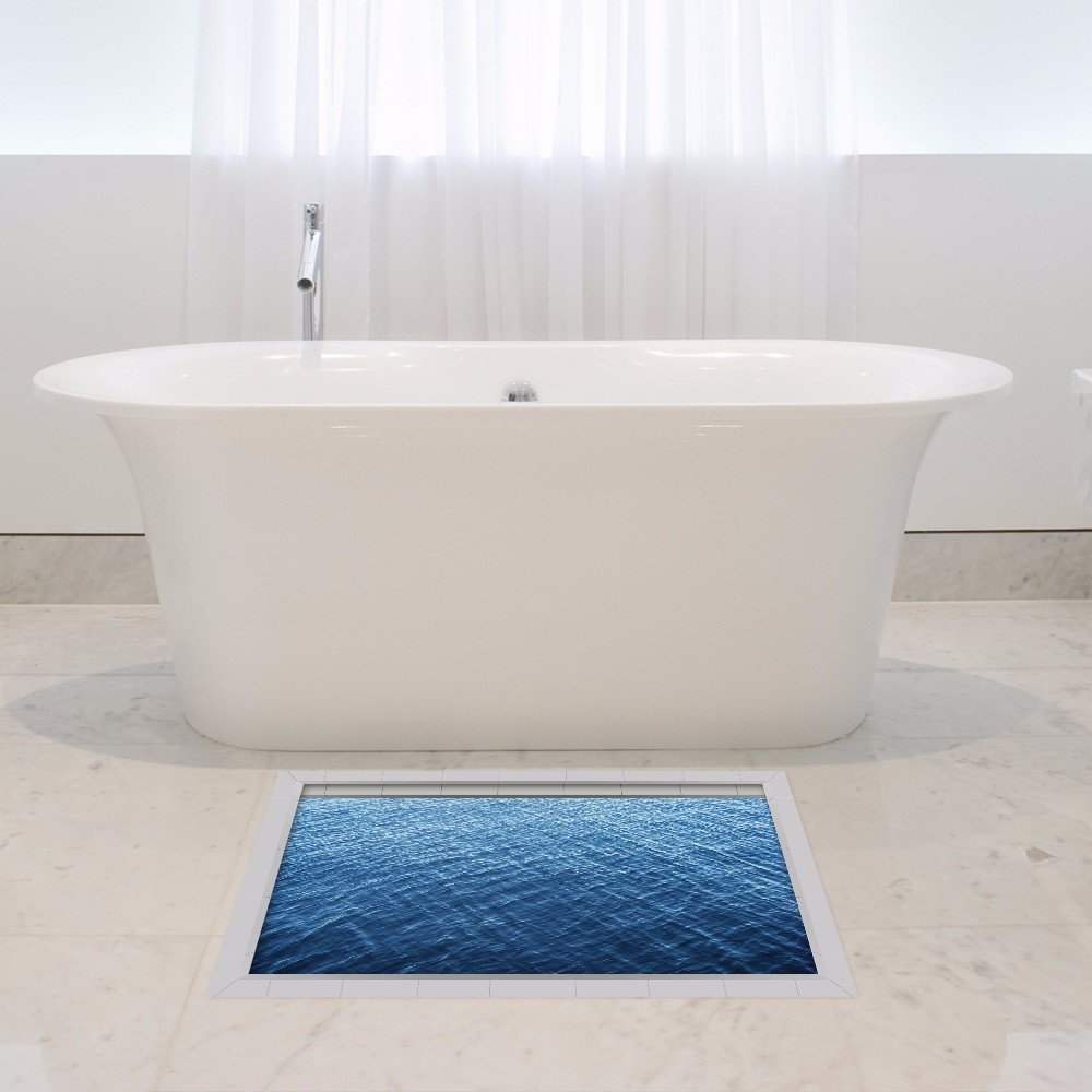3D to (SEA) The bathrooms are non-slip surface living/Foyer/kitchen/dining/WC/non-slip resistant self-adhesive HD to (5890cm)