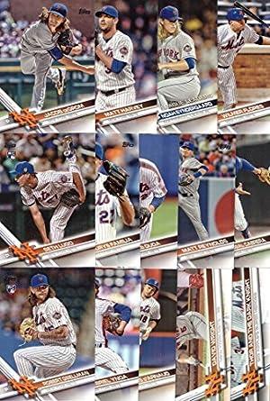 Amazon.com: 2017 Topps Series 1 New York Mets Baseball Card ...