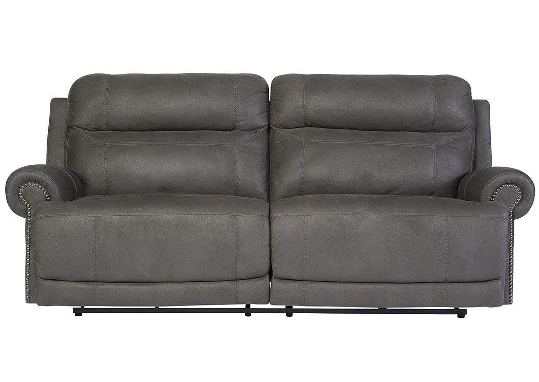 Amazon Com Ashley Furniture Austere Faux Leather Reclining Sofa In