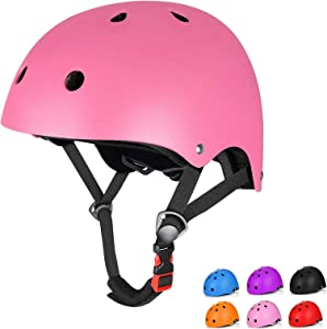 Kids Bike Helmet Toddler Helmet, Upgrade CPSC Certified Kids Helmet, Adjustable Multi-Sports Youth & Child Helmet, Impact Resistance Ventilation Skateboard Cycling Helmet