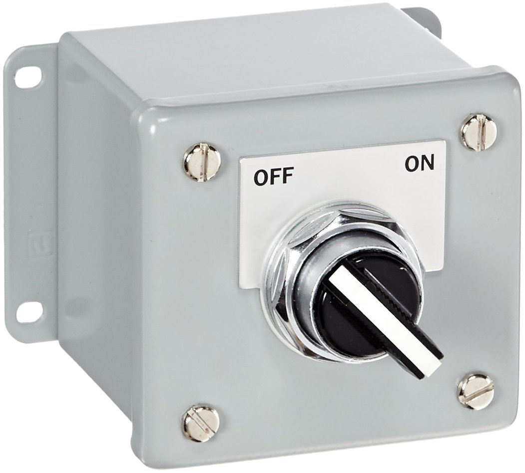 Siemens 52C159A Heavy Duty Selector Switch Control Station, 2 ...