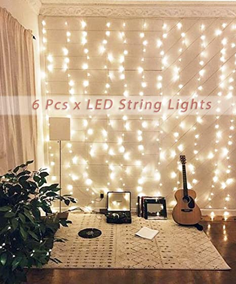 Accmor 4 Pack 10ft//3m 30 LEDs Mini Bulb Battery Operated Fairy String