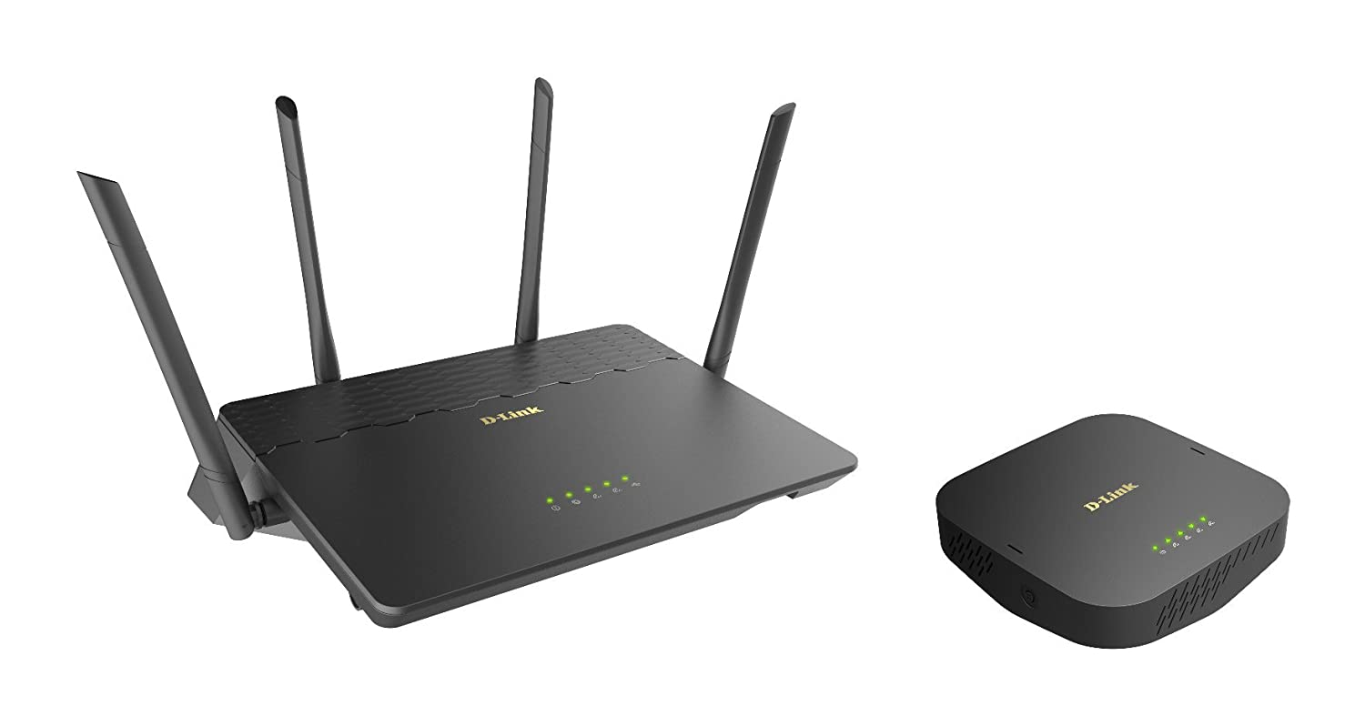 D Link Covr Ac3900 Whole Home Wi Fi System Coverage Up Antenna Outdoor Pf Dgt 5000 To 6000 Sq Ft Router And Seamless Extender With Mu Mimo 3902 Us