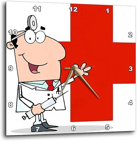 3dRose 3D Rose Medical Doctor-Wall Clock, 10-inch DPP_63105_1