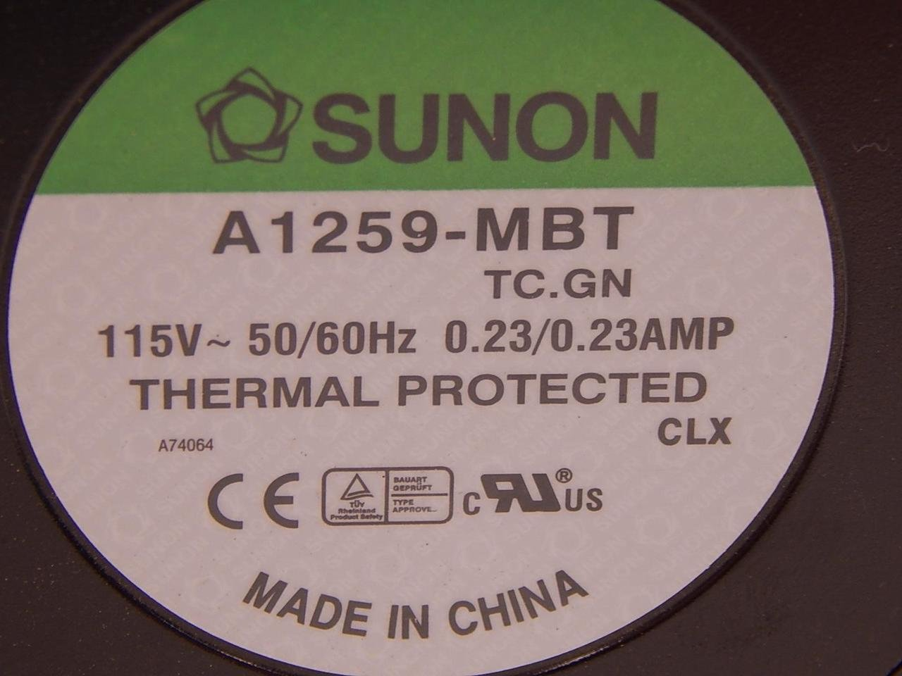 Sunon A1259-MBT Fan