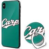 Carp RED Carp 広島東洋カープ IPhone X カバー Iphone Xs ケーおしゃれ アイフォンXケース Iphone Xs ケース TPU PC 指紋防止 高品質 リング付き スタンド機能 ストラップホール 軽量 耐衝撃 おもしろい 個性