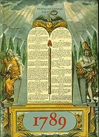 1789 par Guy Chaussinand-Nogaret