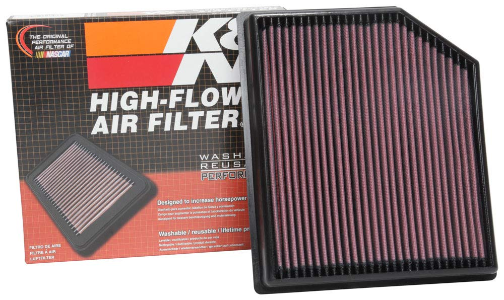 Amazon.com: K&N 33-5077 - Filtro de aire de repuesto: Automotive