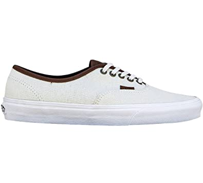 2fbb113179 Vans Authentic Lite Sneakers (Canvas) True White Mens 8