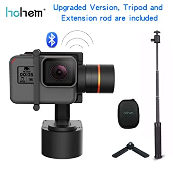 Hohem XG1 Upgraded Version 3-Axis Wearable Gimbal Stabilizer for GoPro Hero 6/5