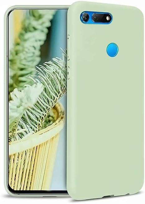 MUTOUREN Huawei Honor View 20 V20 Funda Silicona Líquido Delgado TPU Gel Goma Cover Case Full Protección Anti-Caída Flexible Carcasa Compatible con Huawei Honor View 20 V20: Amazon.es: Electrónica
