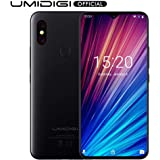 "UMIDIGI F1 Play with 64GB Memory Android 9.0 48MP+8MP+16MP Cameras 5150mAh 6.3"" FHD+ Global Version Smartphone Dual 4G LTE Cell Phone(Unlocked) (Black)"