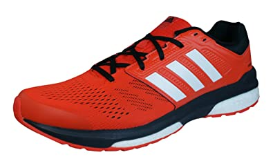 adidas Revenge Boost 2 Mens Running Sneakers/Shoes-Red-7.5