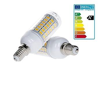 ECD Germany 10W E14 Bombillas LED Reemplazo para lámparas incandescentes de 60W 400 lumen 69 x