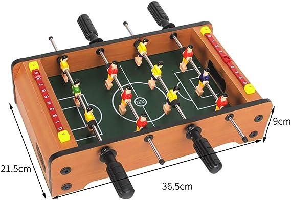 Football Table Futbolín Mesa futbolín futbolín Mesa Juegos Mesa de Billar fútbol Juego decompresión Props Puzzle Juego Adecuado para más de 4 años de Edad Regalo para niños futbolín mesas: Amazon.es: Hogar