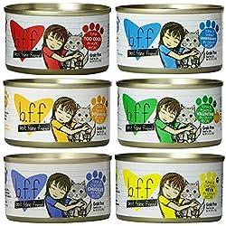 Weruva Grain Free Best Feline Friends Canned Cat Food 6 Flavor Variety Bundle, 3 Ounces Each (12 CANS TOTAL)