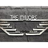 World Marathon Majors Stainless Steel Medal Display