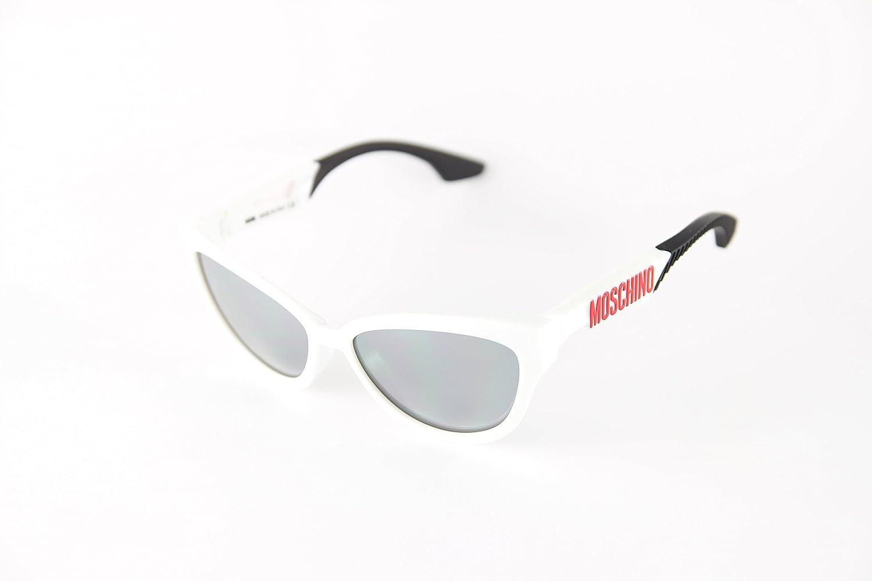 Moschino MO-817S-03 Gafas de sol, White, 57 para Mujer ...