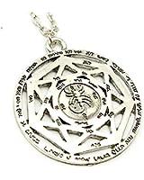 Dean Wincehster Devil Hollow Necklace - Vintage Scorpion Symbol Supernatural Pendant