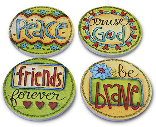 Janazala-4-Decorative-Art-Beverage-Ceramic-Coasters-Cork-Coasters-Attached-In-The-Back-To-Protect-Your-Table-Drink-Coasters-For-Wine-Beer-Cocktail-For-BarHome-and-Office-Inspirational