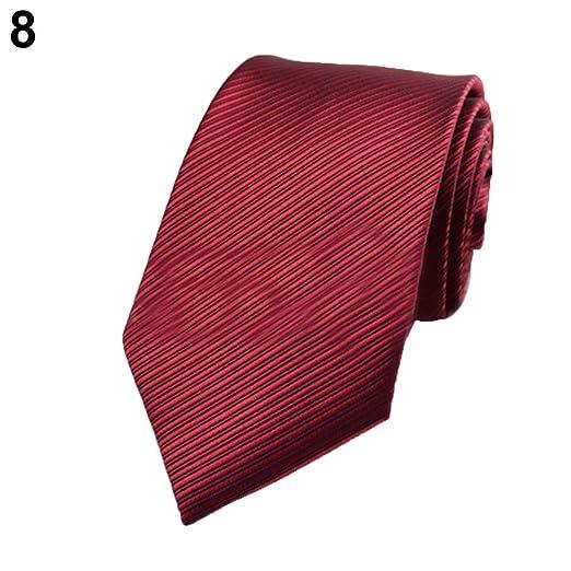 YUnnuopromi - Corbata de Seda para Hombre, diseño de Rayas ...