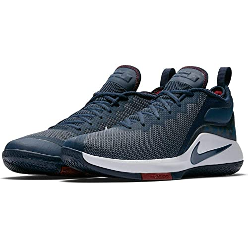 9e29719b1a1 ... canada nike lebron witness ii basketball shoes lebron james college  navy white 942518 406 6ce2d 1f9b9