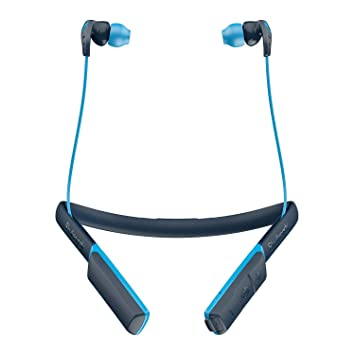 Skullcandy Method Bluetooth Wireless Sweat-Resistant Sport Earbuds with Microphone, Secure Around-The