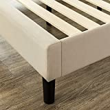 Zinus Upholstered Modern Classic Tufted Platform