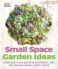 Small garden, tiny garden, or no garden at all? Small Space Garden Ideas is perfect for people who have very little room for gardening, whether a doorstep, balcony, or part of a wall. Get inspired to decorate your (lack of) outdoor space with...