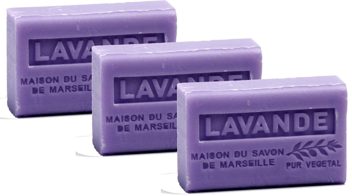 La Maison du Savon Organic Shea Lavender (3 Pack)