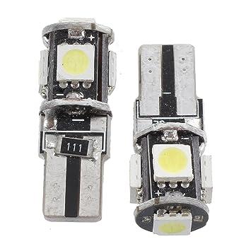 Sonline 2 CANBUS T10 W5W 194 BOMBILLA LUZ LED 12V 5 SMD COCHE: Amazon.es: Coche y moto