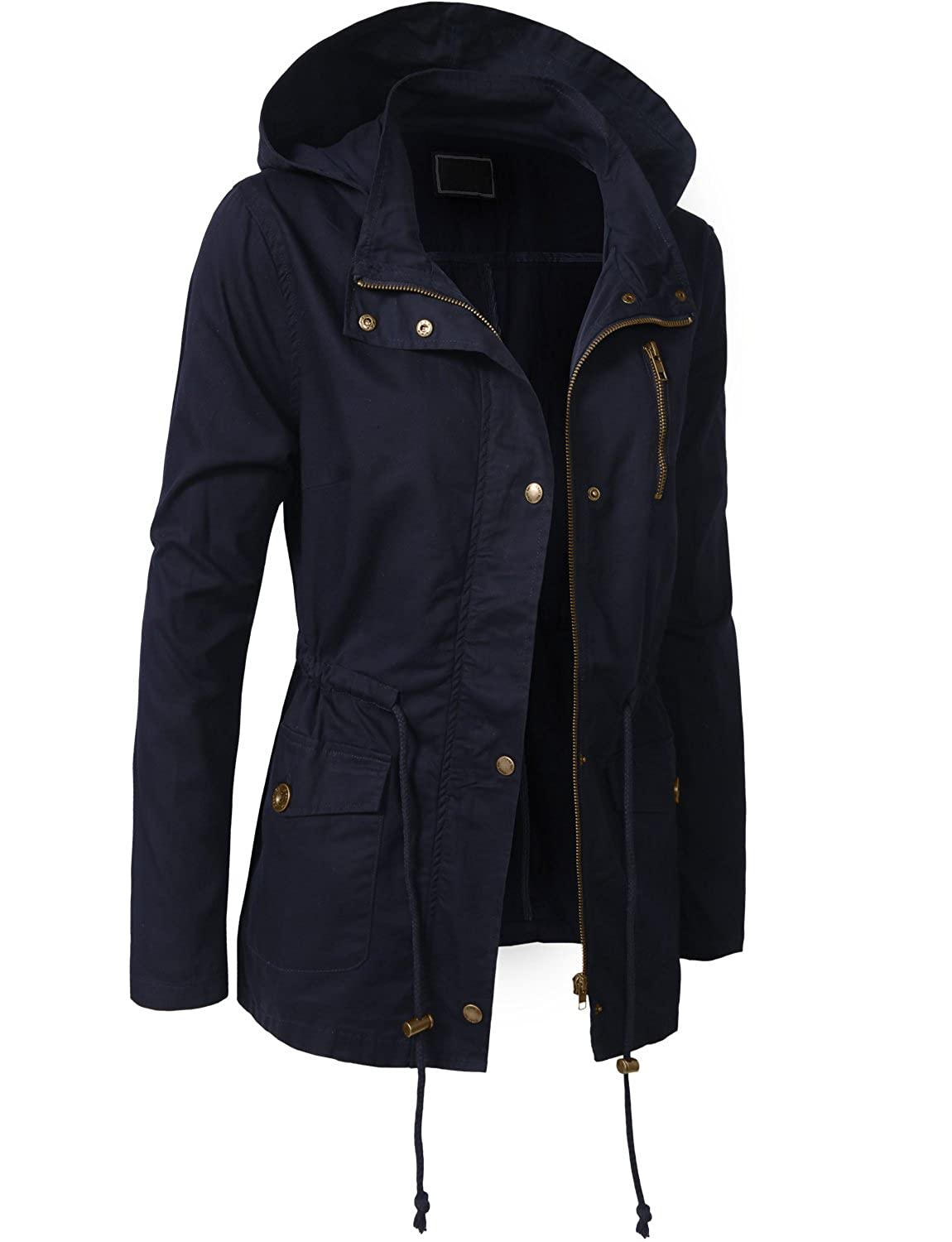 3db8dd263c36a NE PEOPLE Womens Military Anorak Jacket in Various Styles NEWJ10 larger  image