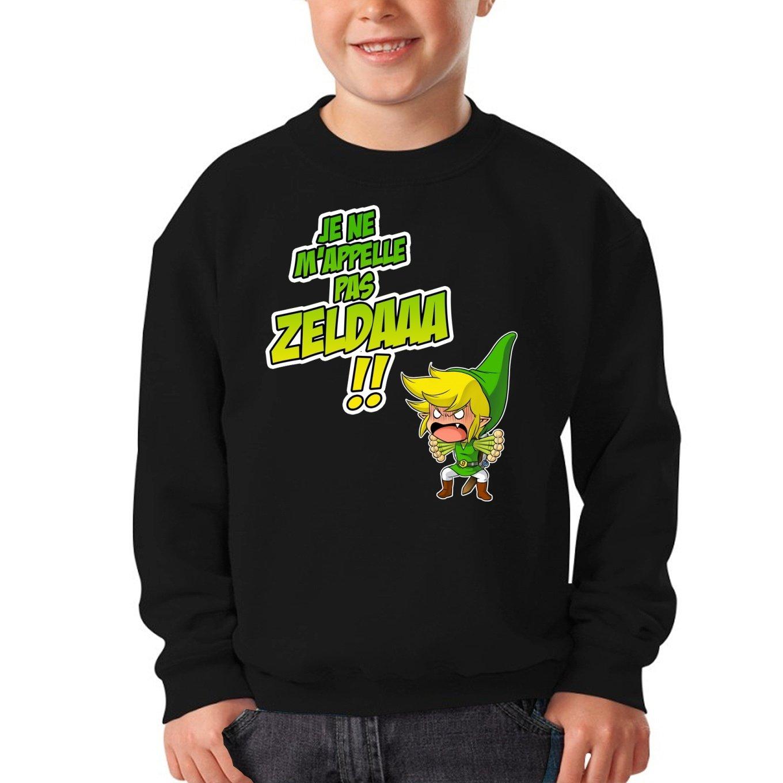 Zelda parodique Link : Un Coup de Gueule de h/éros. French Days Parodie Zelda Okiwoki Sweat-Shirts