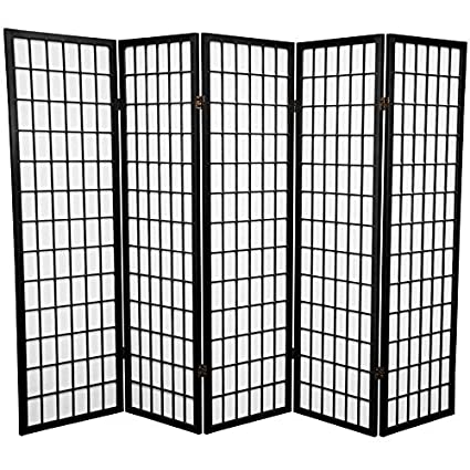amazon com 5 panel room divider kitchen dining rh amazon com 5 panel room divider 5 panel room dividers walmart