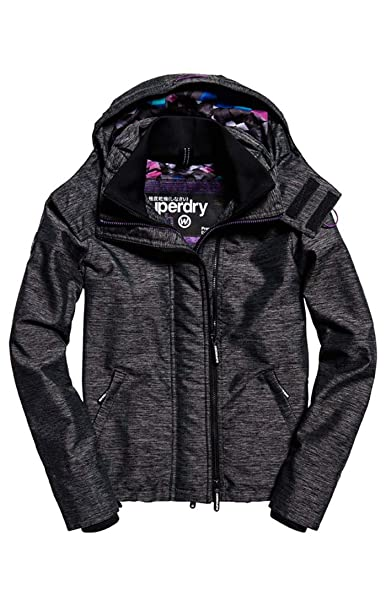 Superdry Technical Hooded Pop Zip Windc, Abrigo Impermeable para Mujer: Amazon.es: Ropa y accesorios
