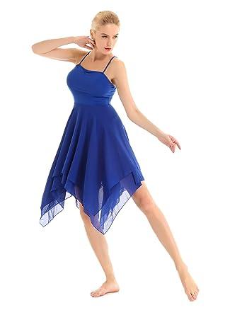 dPois Vestido de Ballet Danza Baile para Mujer Chica Maillot con ...