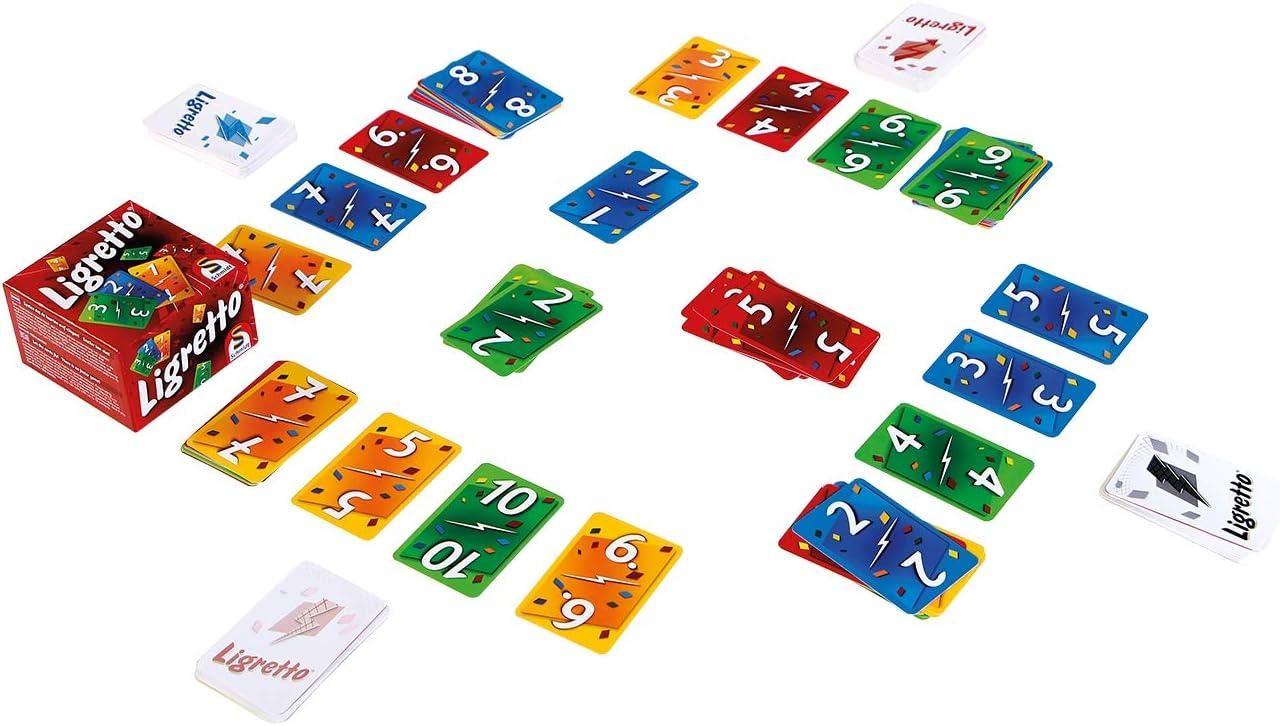 WDK Partner Starter Ligretto - Juego de Mesa, Color Rojo - Ligretto Rojo. Cartas: Amazon.es: Juguetes y juegos