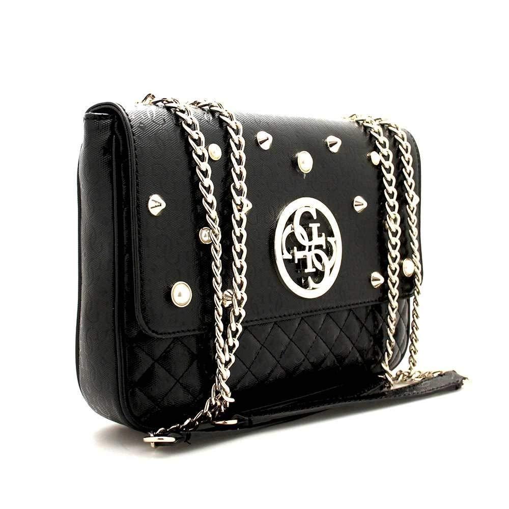 bc59090e1a Guess Bag GIOIA Female Black - HWSG6989210BLA  Amazon.fr  Vêtements et  accessoires