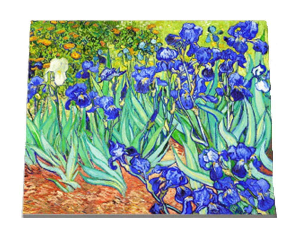 Malen Malen Malen Sie Nach Anzahl Kits DIY Van Gogh Iris Blaumen Für Erwachsene Kindergeschenk 40x50cm with Combination Frame B07PTSR8PX | Fuxin  5e1225